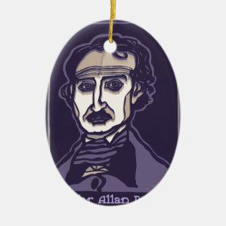 Edgar Allan Poe durch FacePrints Keramik Ornament