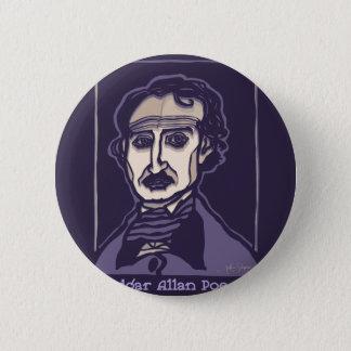 Edgar Allan Poe durch FacePrints Runder Button 5,7 Cm