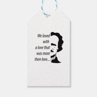 Edgar Allan Poe Geschenkanhänger
