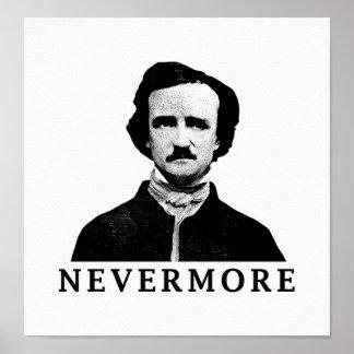 Edgar Allan Poe - nie wieder Poster