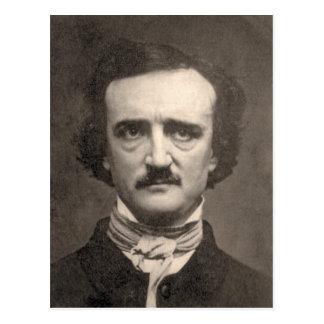Edgar Allan Poe Postkarte