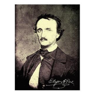 Edgar Allan Poe *Restored u. Refinished* Postkarte