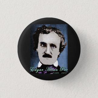 Edgar Allan Poe Runder Button 2,5 Cm