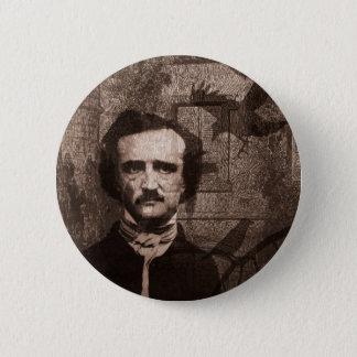 Edgar Allan Poe Runder Button 5,1 Cm
