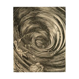 Edgar Allan Poe-Strudel illus durch Rackham Holzdruck