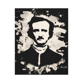 Edgar Allan Poe Tribute Leinwanddruck