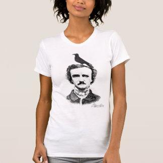 Edgar Allan Poe und Rabe T-Shirt