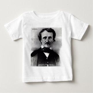 """Edgar Allen Poe """"weinen allein"""" Baby T-shirt"""