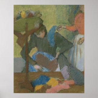 Edgar Degas   am Milliners, c.1898 Poster