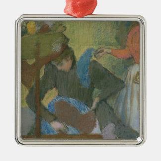 Edgar Degas   am Milliners, c.1898 Silbernes Ornament