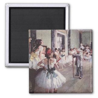 Edgar Degas-Ballett-Lektion Magnete