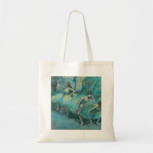 Edgar Degas - Ballett-Tänzer dem Pastell in der Fl Taschen