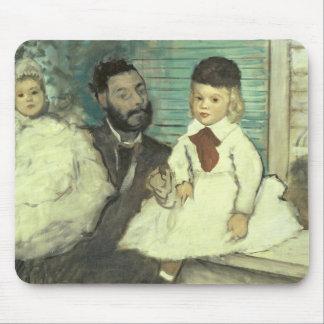 Edgar Degas | Comte Le Pic und seine Söhne Mousepad