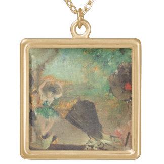 Edgar Degas | das Loge, c.1883 Vergoldete Kette