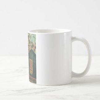 Edgar Degas das Orchester der Oper Kaffeetasse