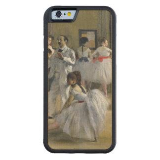 Edgar Degas | das Tanz-Foyer an der Oper Bumper iPhone 6 Hülle Ahorn