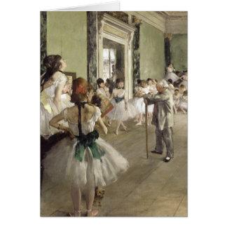 Edgar Degas | die Ballett-Klasse Karte
