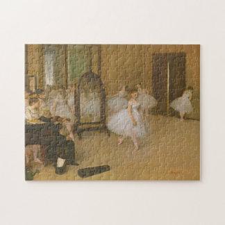 Edgar Degas die Tanzen-Klasse Puzzle