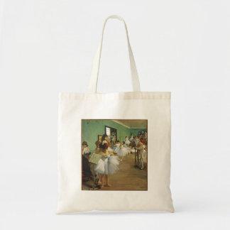 Edgar Degas die Tanzklasse Tragetasche