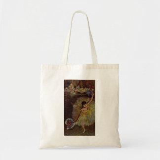 Edgar Degas - Ende von Arabeske 1877 Leinentaschen