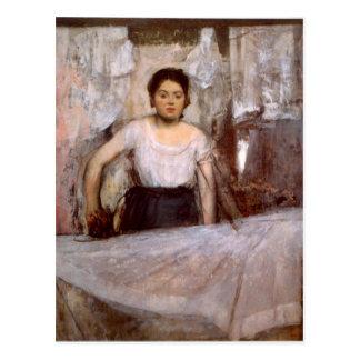 Edgar Degas - Frauen-Bügeln Postkarte