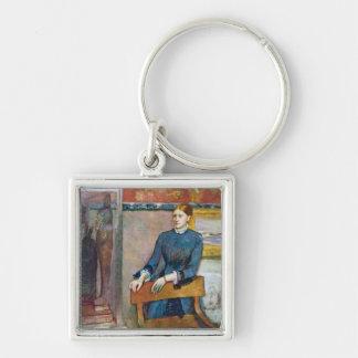 Edgar Degas | Helene Rouart in der Studie ihres Schlüsselanhänger
