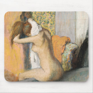Edgar Degas | nach dem Bad, Frauen-trocknender Mousepad