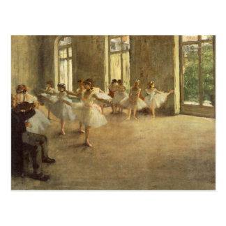 Edgar Degas Postkarte
