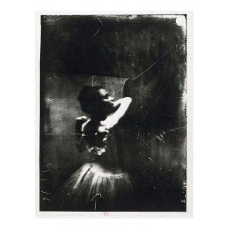 Edgar Degas-Postkarte mit Ballett-Tänzer Postkarte