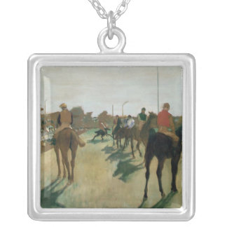 Edgar Degas Versilberte Kette