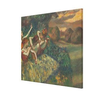 Edgar Degas | vier Jahreszeiten im einem Kopf, Leinwanddruck