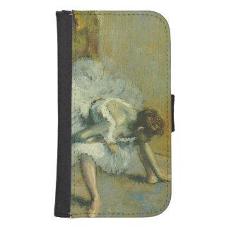 Edgar Degas | vor dem Ballett, 1890-1892 Galaxy S4 Geldbeutel Hülle