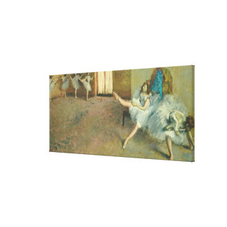 Edgar Degas | vor dem Ballett, 1890-1892 Leinwanddruck