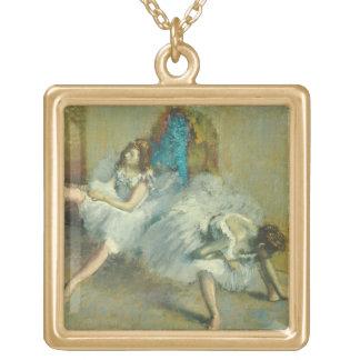 Edgar Degas | vor dem Ballett, 1890-1892 Vergoldete Kette