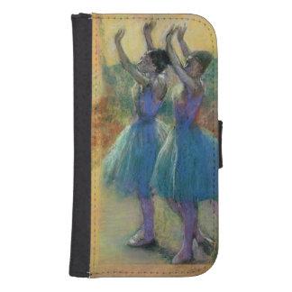 Edgar Degas | zwei blaue Tänzer Phone Geldbeutel