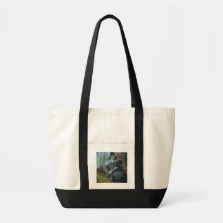 Edgar Degas   zwei Frauen Tragetasche