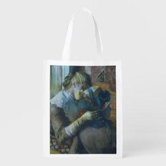 Edgar Degas | zwei Frauen Wiederverwendbare Einkaufstasche