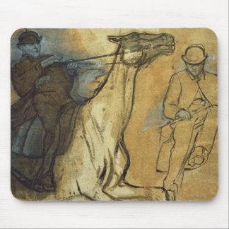 Edgar Degas | zwei Studien der Reiter Mousepad