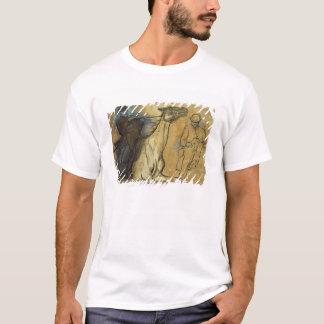 Edgar Degas | zwei Studien der Reiter T-Shirt