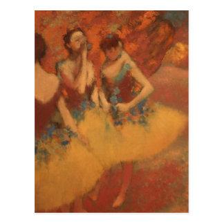 Edgar Degass | neue Adresse der Gelb-Rock-| Postkarte