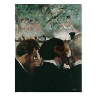 Edgar Degass | neue Adresse der Postkarte