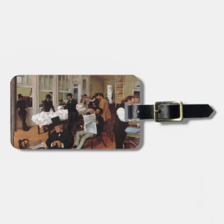 EDGAR ENTGASEN a-Baumwollbüro in New Orleans 1873 Gepäckanhänger