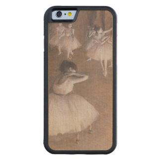 Edgar entgasen | Ballett-Probe auf der Bühne, 1874 Bumper iPhone 6 Hülle Ahorn