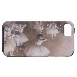 Edgar entgasen | Ballett-Probe auf der Bühne, 1874 iPhone 5 Hülle