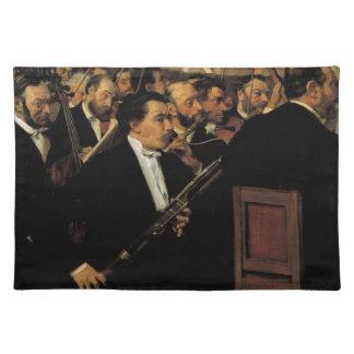 Edgar entgasen - das Opern-Orchester - Vintage Tischset