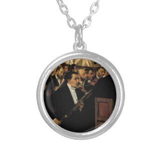 Edgar entgasen - das Opern-Orchester - Vintage Versilberte Kette