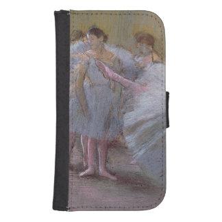 Edgar entgasen | Tänzer an Probe, 1875-1877 Samsung S4 Geldbeutel Hülle