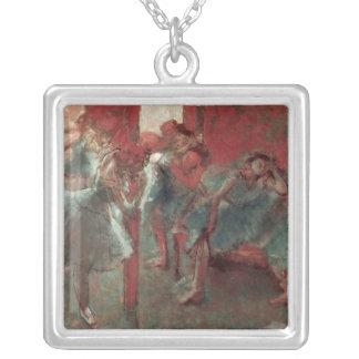 Edgar entgasen | Tänzer an Probe, 1895-98 Versilberte Kette