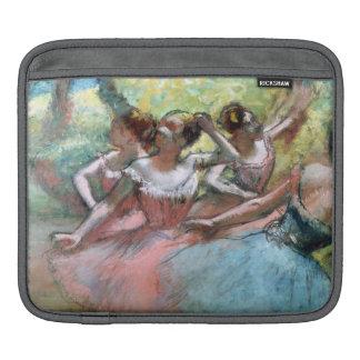 Edgar entgasen | vier Ballerinen auf der Bühne iPad Sleeve