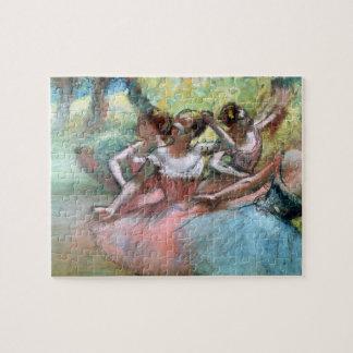 Edgar entgasen | vier Ballerinen auf der Bühne Puzzle